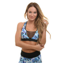 COCKATIL FLOWERS FITNESS TOP