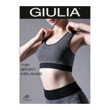 GIULIA TOP SP.MELANGE M2 FITNESS TOP