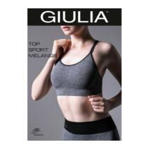 GIULIA TOP SP.MELANGE M1 FITNESS TOP