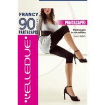 ELLEDUE FRANCY  PANTACAPRI HARISNYANADRÁG 90 DEN