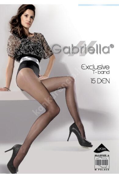 GABRIELLA T BAND HARISNYANADRÁG 15 DEN