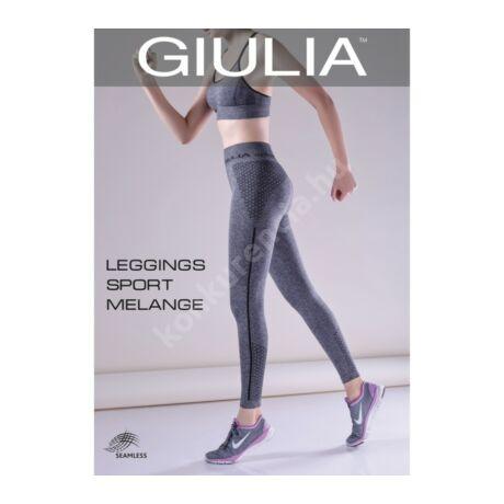 57115b37b1 GIULIA LEGGINGS SPORT MELANGE FITNESS NADRÁG - Női - Konkurencia ...