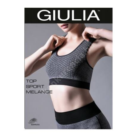 GIULIA TOP SP.MELANGE M2 FITNESS TOP - Melltartó - Konkurencia ... 9004f9333d