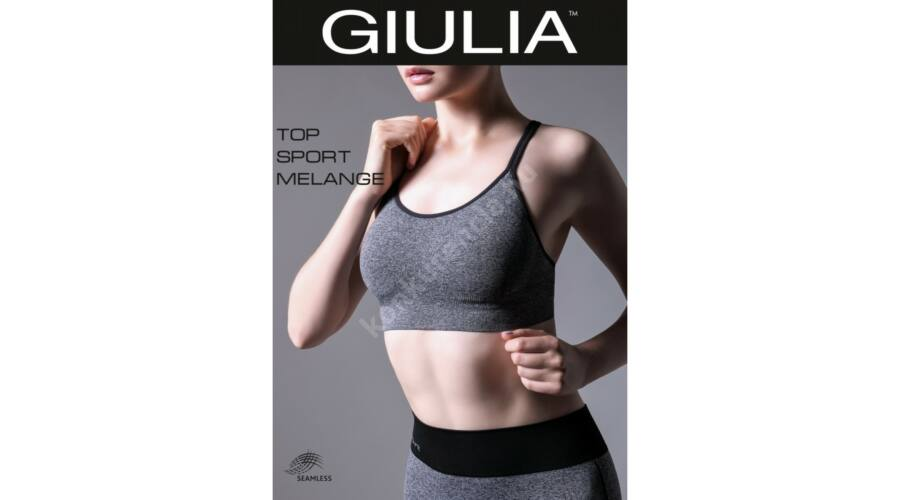 GIULIA TOP SP.MELANGE M1 FITNESS TOP - Sport top  2f956f9cd0